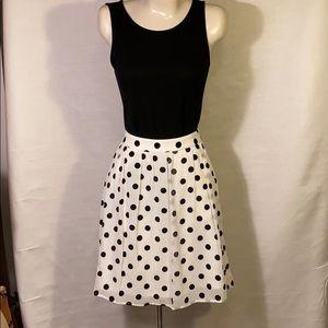 J.Crew Polka Dot skirt